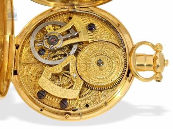 Pocket watch: extremely magnificent pocket watch for the Chinese market, signed Bovet Fleurier , CA. 1850 - photo 1