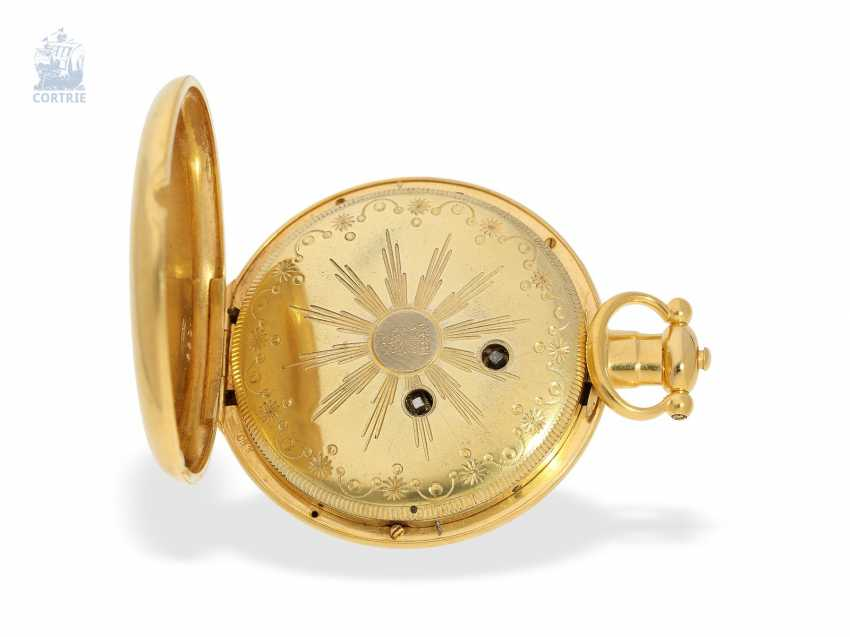 Pocket watch: extremely magnificent pocket watch for the Chinese market, signed Bovet Fleurier , CA. 1850 - photo 2