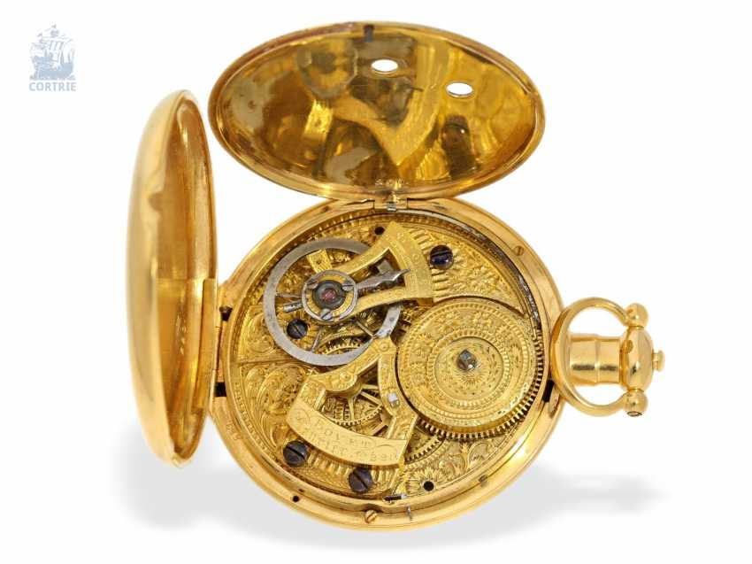 Pocket watch: extremely magnificent pocket watch for the Chinese market, signed Bovet Fleurier , CA. 1850 - photo 4