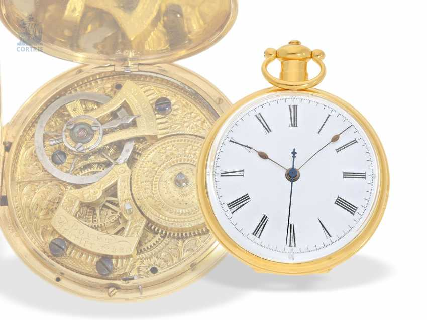 Pocket watch: extremely magnificent pocket watch for the Chinese market, signed Bovet Fleurier , CA. 1850 - photo 6
