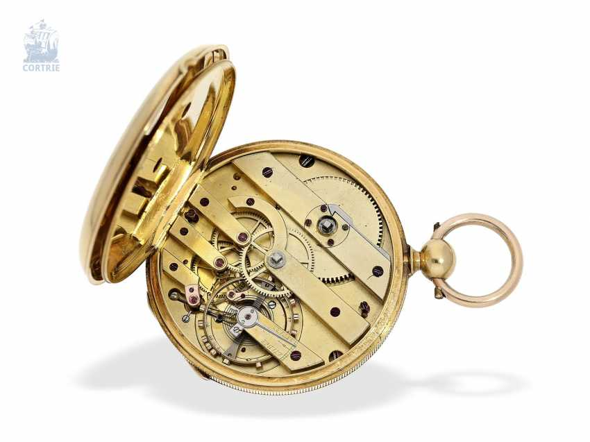 Pocket watch: early, fine Lepine with chronometer escapement, Switzerland, around 1850 - photo 2
