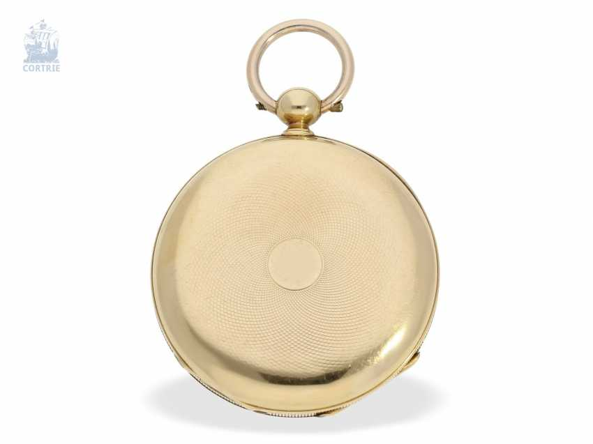Pocket watch: early, fine Lepine with chronometer escapement, Switzerland, around 1850 - photo 4