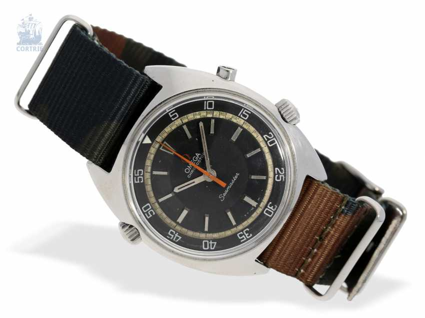 Watch: wanted, large vintage Chronograph, Omega Seamaster Chrono stop (Flyback), about 1970 - photo 1