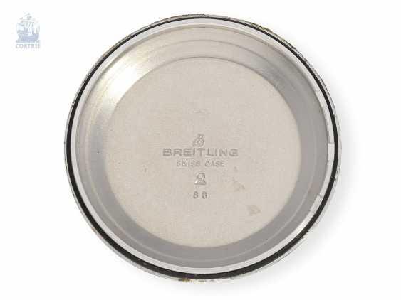 "Armbanduhr: gesuchter Chronograph, Breitling Navitimer Cosmonaute ""24 hours"", Ref. 81600, ca.1980 - photo 3"