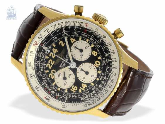 "Armbanduhr: gesuchter Chronograph, Breitling Navitimer Cosmonaute ""24 hours"", Ref. 81600, ca.1980 - photo 5"