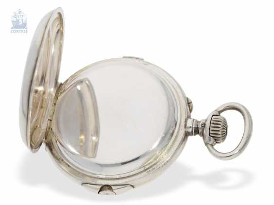 """Pocket watch: extremely rare-Regulator-Chronograph-with-time-counter """"universal watch Patent"""" according to the invention of Fritz Bovet and Albin Ernest Bessire, Patent Hermann Bovet Brevet No. 12 of 1888 - photo 3"""