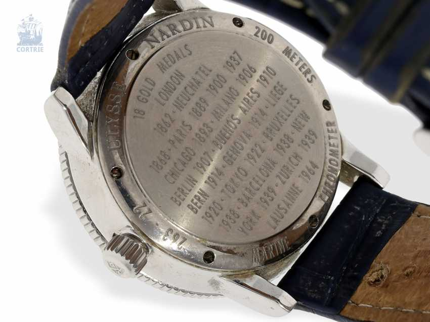 Watch: wanted men's, large, Ulysse Nardin marine chronometer 1846 with power reserve, Ref. 263 - photo 3