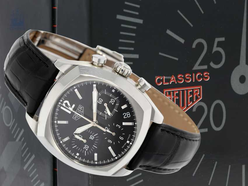 """Watch: sporty Heuer Chronograph, """"Monza"""" by Tag Heuer, Ref. CR 2110, year 2000 - photo 2"""