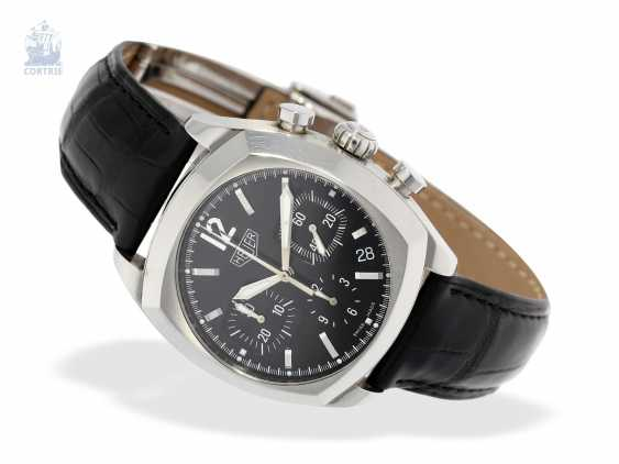 """Watch: sporty Heuer Chronograph, """"Monza"""" by Tag Heuer, Ref. CR 2110, year 2000 - photo 5"""