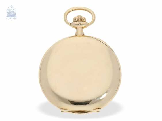 Pocket watch: fine, heavy A. Lange & Söhne gold savonnette with the master excerpt from the book, Glashütte 1924 - photo 2