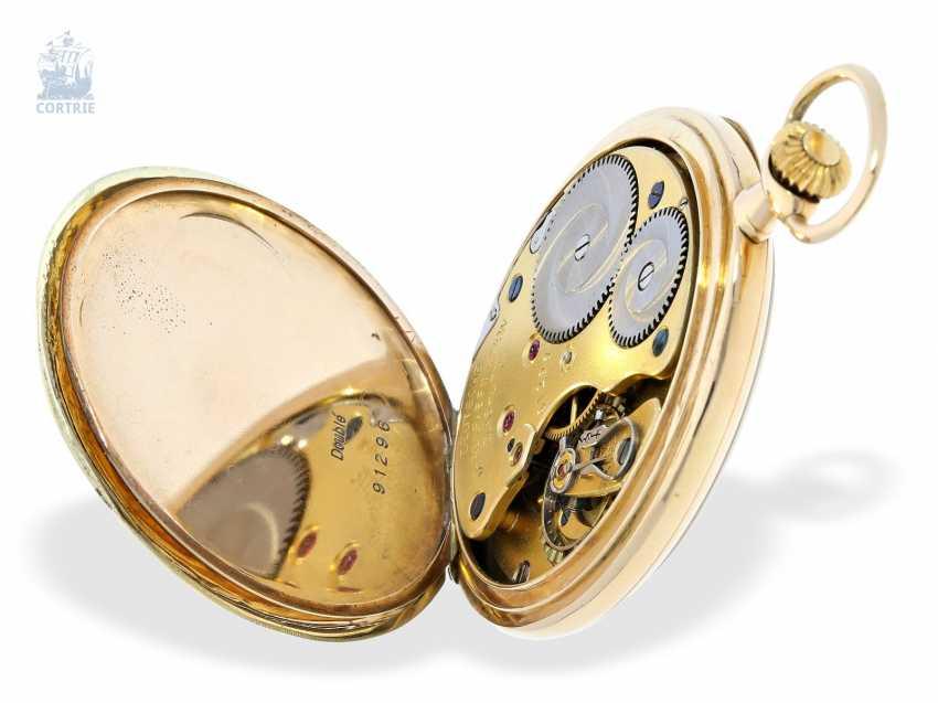 Pocket watch: Lange & Söhne pocket watch with original papers & original box, Glashütte 1928 - photo 5
