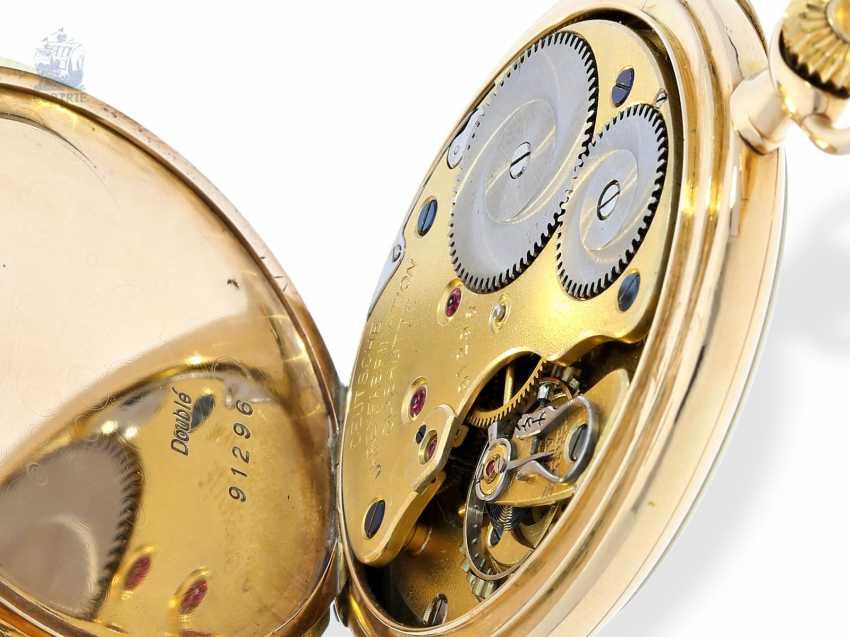 Pocket watch: Lange & Söhne pocket watch with original papers & original box, Glashütte 1928 - photo 7