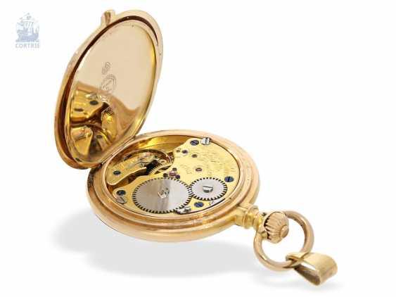 Pocket watch/Anhängeuhr: very rare A. Lange & Söhne Glashütte ladies watch with original diamond/emerald trim, 47567, Glashütte CA. 1903, with the master excerpt from the book - photo 3