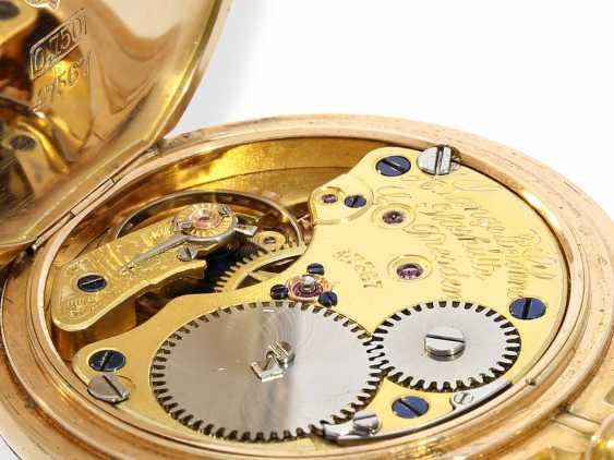 Pocket watch/Anhängeuhr: very rare A. Lange & Söhne Glashütte ladies watch with original diamond/emerald trim, 47567, Glashütte CA. 1903, with the master excerpt from the book - photo 5