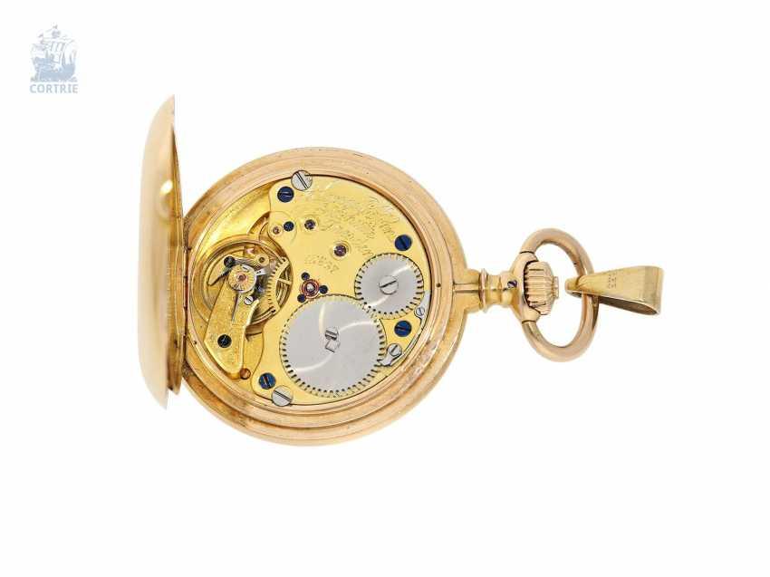Pocket watch/Anhängeuhr: very rare A. Lange & Söhne Glashütte ladies watch with original diamond/emerald trim, 47567, Glashütte CA. 1903, with the master excerpt from the book - photo 7