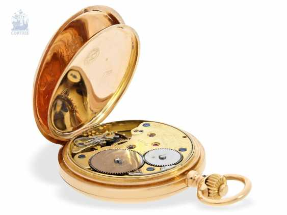 Pocket watch: large, fine gold savonnette, A. Lange & Söhne, No. 34889, a glass factory in 1896, with the master excerpt from the book - photo 6