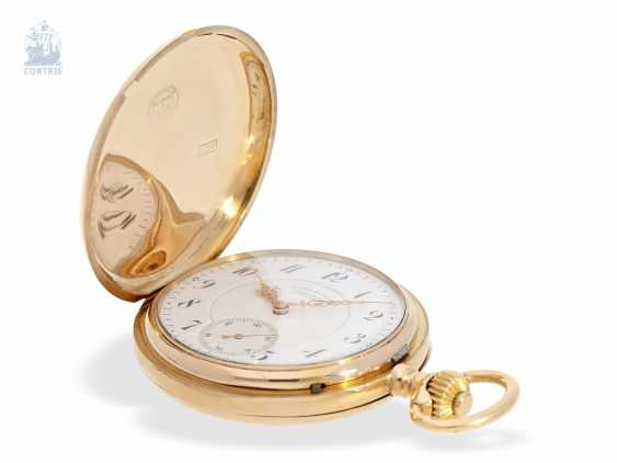 Pocket watch: large, fine gold savonnette, A. Lange & Söhne, No. 34889, a glass factory in 1896, with the master excerpt from the book - photo 7