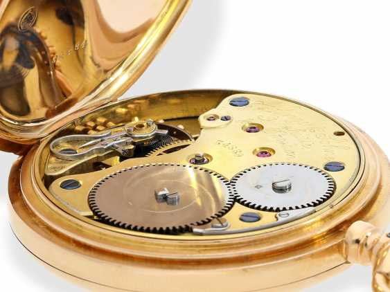 Pocket watch: large, fine gold savonnette, A. Lange & Söhne, No. 34889, a glass factory in 1896, with the master excerpt from the book - photo 9