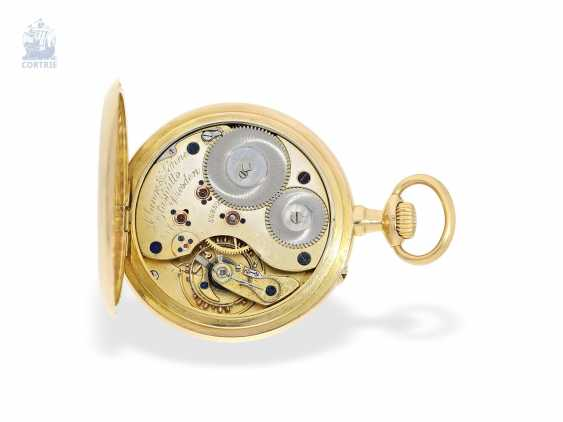 Pocket watch: large, very fine A. Lange & Söhne men's watch, quality 1A, delivered to Krüssmann in Rio in 1906, with certificate and Box - photo 6