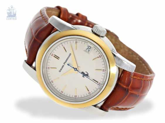 "Watch: a limited edition men's watch, Girard Perregaux ""Ferrari"", Ref.8025, steel/Gold, approx 2000 - photo 1"