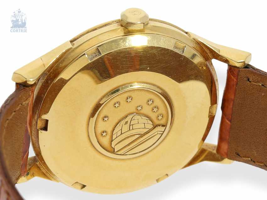 """Wrist watch: high quality Omega Constellation Chronometer """"Pie-Pan"""" reference 168005-6, 18K Gold, C. 1963 - photo 4"""