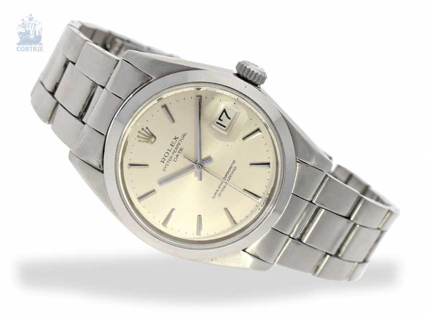 Watch: vintage Rolex Date Chronometer, stainless steel - photo 1