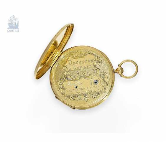 Pocket watch: exquisite, super-flat Gold/enamel pocket watch Vacheron Geneve, 1835, one of the earliest watches in the world famous company, No. 686 - photo 5