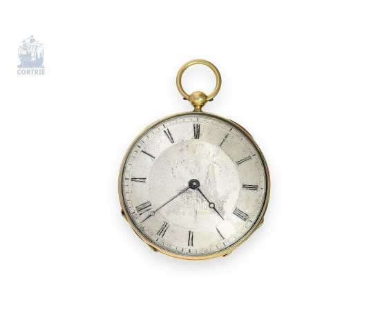 Pocket watch: exquisite, super-flat Gold/enamel pocket watch Vacheron Geneve, 1835, one of the earliest watches in the world famous company, No. 686 - photo 6