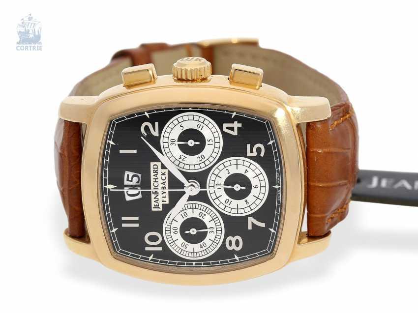 "Armbanduhr: schwerer 18K Luxus-Chronograph, Daniel JeanRichard ""Grand TV Screen Fly-Back Chronograph Ref. 51016"", limitiert, No.034 - photo 1"