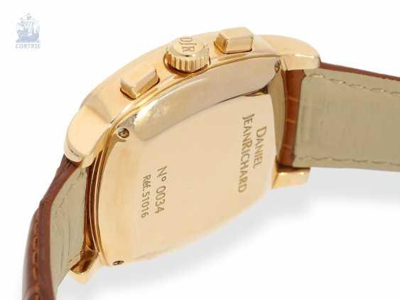 "Armbanduhr: schwerer 18K Luxus-Chronograph, Daniel JeanRichard ""Grand TV Screen Fly-Back Chronograph Ref. 51016"", limitiert, No.034 - photo 2"
