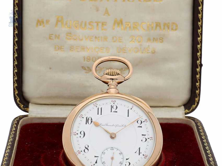 "Taschenuhr: Omega Rarität, Observatoriums-Chronometer ""CHRONOGRAPH ""CALIBER DDR"" No. 2584707, ac 1920 - photo 4"