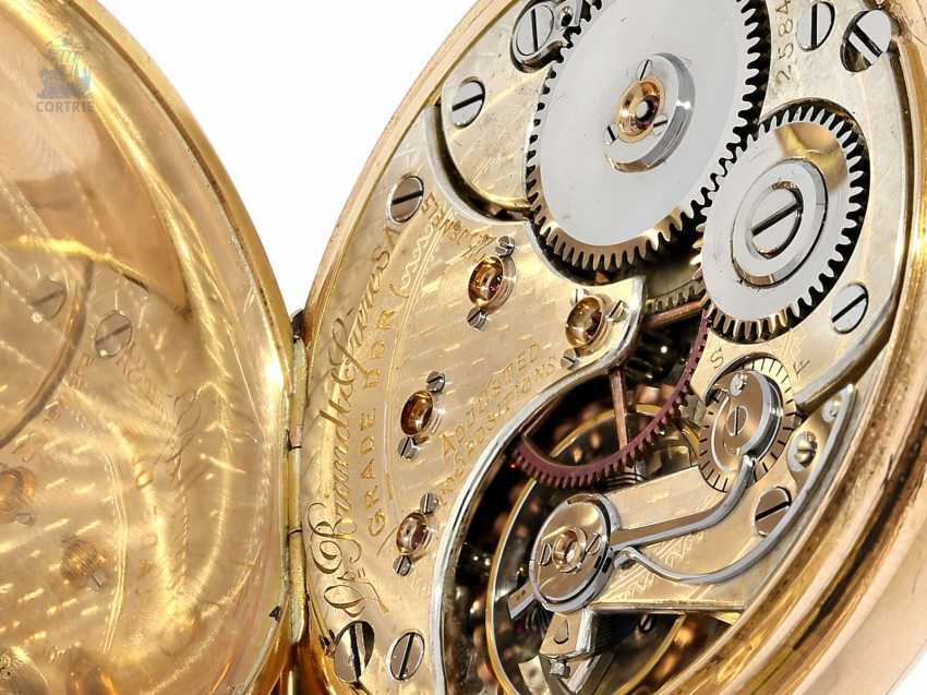 "Taschenuhr: Omega Rarität, Observatoriums-Chronometer ""CHRONOGRAPH ""CALIBER DDR"" No. 2584707, ac 1920 - photo 6"