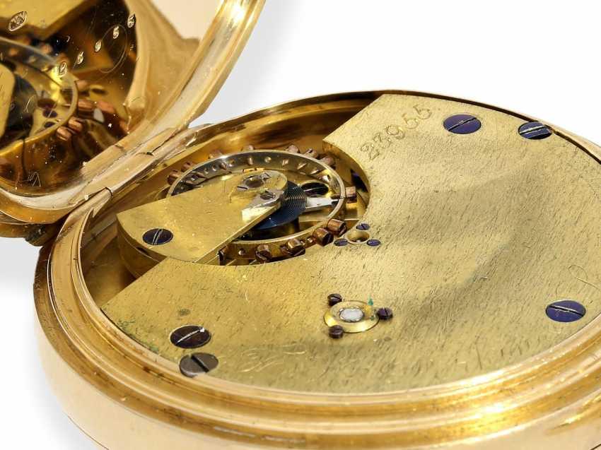 Pocket watch: rare English precision pocket watch with carousel, Bahne Bonniksen/ Perkins & Son London No. 23955, English Hallmarks 1900 - photo 6