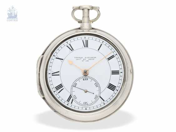 Pocket watch: important and very early Pocket chronometer, Thomas Earnshaw Invenit et fecit, No. 580, Hallmarks London 1801/1811 - photo 3