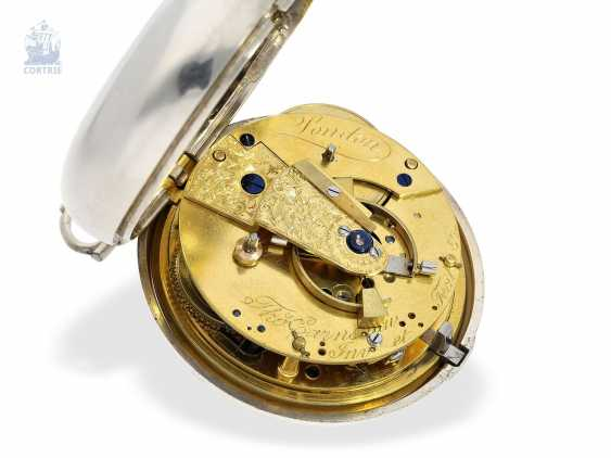 Pocket watch: important and very early Pocket chronometer, Thomas Earnshaw Invenit et fecit, No. 580, Hallmarks London 1801/1811 - photo 6