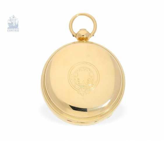 "Pocket watch: very fine English Pocket chronometers, around 1800, George Margetts, London, (1748-1808), ""Longitudinal Watchmaker"", ""Master of Horology"" since 1779 - photo 3"
