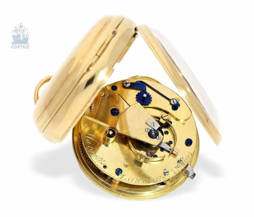 "Pocket watch: very fine English Pocket chronometers, around 1800, George Margetts, London, (1748-1808), ""Longitudinal Watchmaker"", ""Master of Horology"" since 1779 - photo 4"
