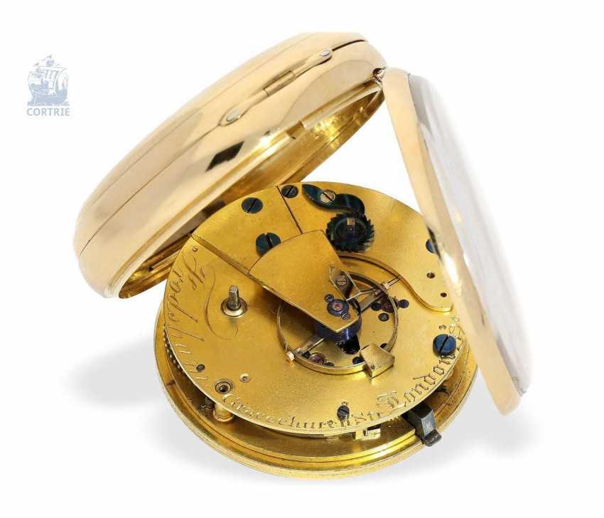 Pocket watch: heavy Pocket chronometer, signed Frodsham, London, No. 198, Hallmark 1824 - photo 4