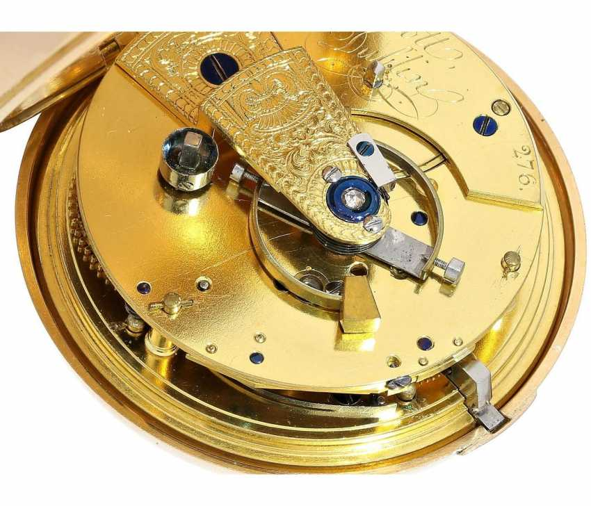 "Pocket watch: early and interesting Irish Pocket chronometer, by James Scott, Dublin, No. 276, ""Longitudinal Watchmaker"", (1806-1820) - photo 1"