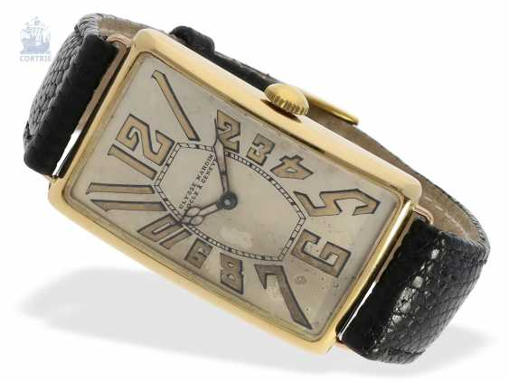 """Watch: ancient, oversized men's watch from 1917, the Ulysse Nardin """"type Pedro the degree of"""" master excerpt from the book, the only known copy! - photo 3"""