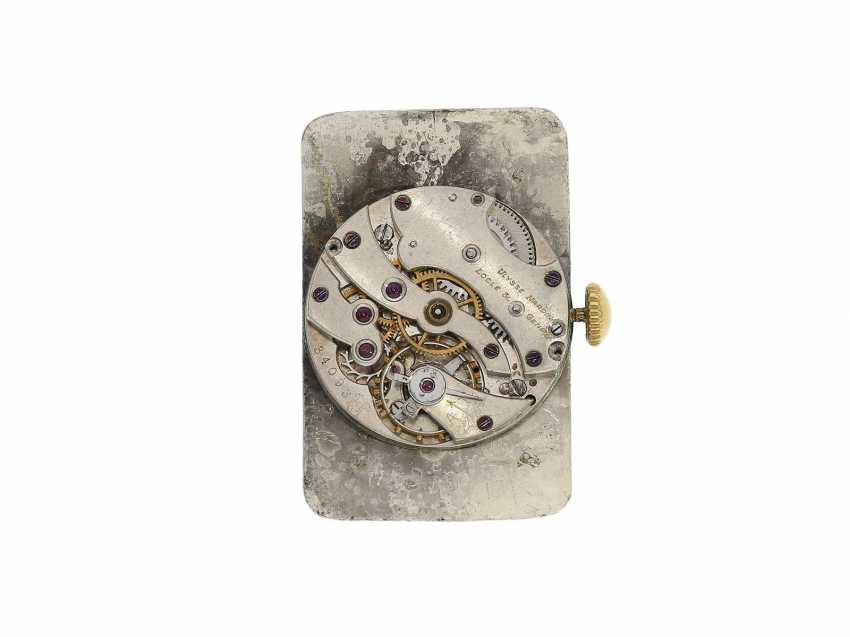 """Watch: ancient, oversized men's watch from 1917, the Ulysse Nardin """"type Pedro the degree of"""" master excerpt from the book, the only known copy! - photo 4"""