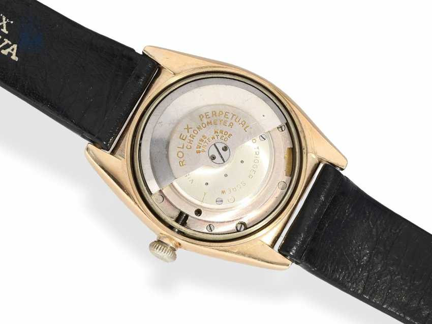 Watch: Rolex watch-rare rose gold, Rolex Oyster Perpetual, Bubble Back Ref. 3131, CA. 1945 - photo 4