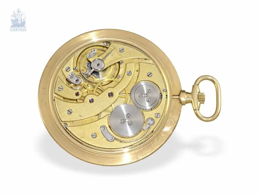 """Pocket watch: Cartier, """"Montre Couteau"""", around 1930, slimmest of Cartier-built men's pocket watch, the entire watch only 4mm thick - photo 3"""