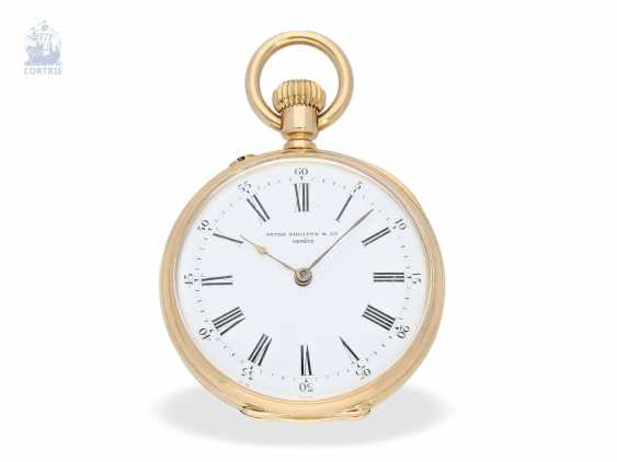 Pocket watch: very fine Patek Philippe pocket watch with original box, CA. 1891 - photo 2