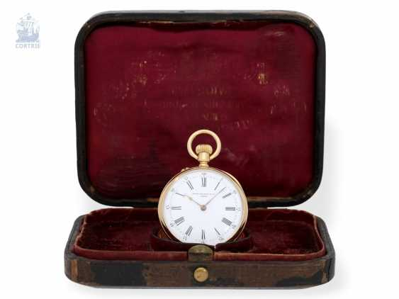 Pocket watch: very fine Patek Philippe pocket watch with original box, CA. 1891 - photo 8
