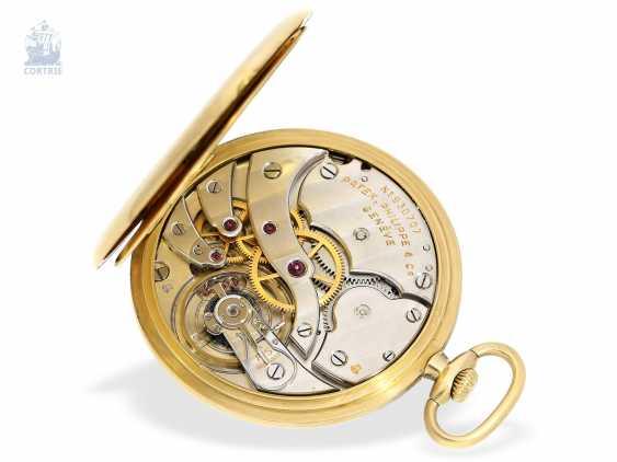 "Pocket watch: very fine Patek Philippe Frackuhr ""Breguet-Type"", CA. 1930, with Box - photo 3"