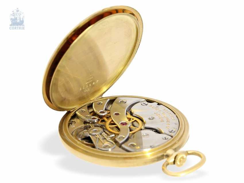 "Pocket watch: very fine Patek Philippe Frackuhr ""Breguet-Type"", CA. 1930, with Box - photo 4"