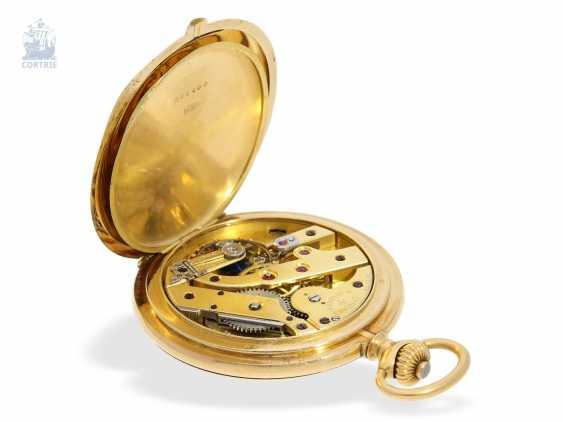 """Taschenuhr: besonders schweres und hochfeines Ankerchronometer, Vacheron & Constantin, Genève, """"Half-Chronometer"""" No.357629, ac 1904 - photo 2"""