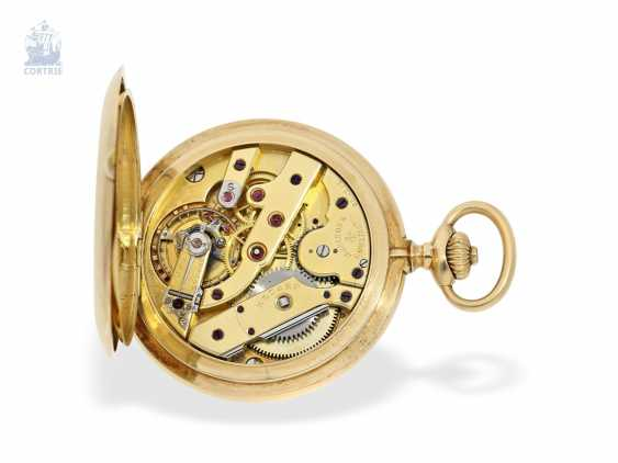 """Taschenuhr: besonders schweres und hochfeines Ankerchronometer, Vacheron & Constantin, Genève, """"Half-Chronometer"""" No.357629, ac 1904 - photo 3"""