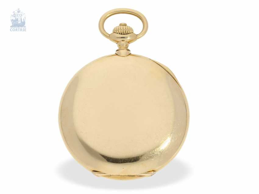 """Taschenuhr: besonders schweres und hochfeines Ankerchronometer, Vacheron & Constantin, Genève, """"Half-Chronometer"""" No.357629, ac 1904 - photo 4"""